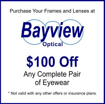 Bayview Optical Eye Doctor & Optician Coupon Livonia MI