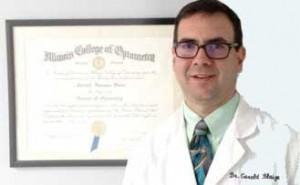 Optometrist Dr. Blaize
