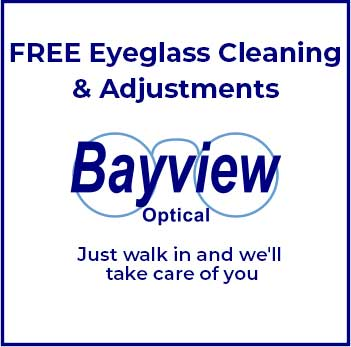 Free Eyeglass Cleaning